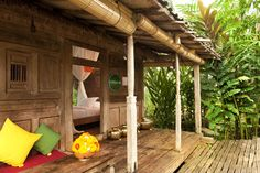 vila bambu indah ubud indonesia - Villa made from Bamboo