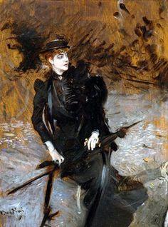Giovanni Boldini - Portrait of Enrichetta Allegri