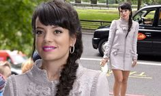 5/22/14.  Lily Allen leads the glamour at the 2014 Ivor Novello Awards