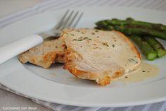 Cocinando con Neus: Filetes de cerdo con mostaza al estragón