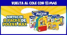 Sorteo de 8 lotes de Puleva MAX con @Supermercadomas! @puleva #Promo #Sorteo #VueltaAlCole