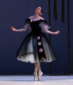 Viktoria Tereshkina in Marguerite and Armand. Mariinsky Ballet....