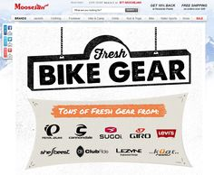 Check out there Cycling Shop for some great deals. Moosejaw