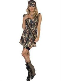 Militær kjole - Militær kostume 153kr
