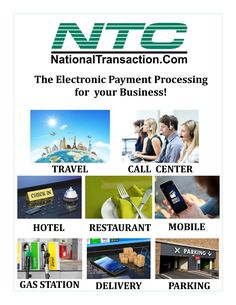 The Electronic Payment Processing For Your Business!  Call us now 888-996-2273