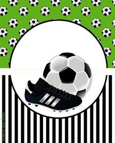 Set de Fútbol: Etiquetas para Candy Bar para Imprimir Gratis.