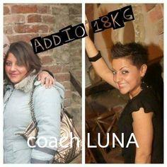 Adoro questa ragazza determinata fin dall'inizio e in 3 mesi a perso 18 kg :)