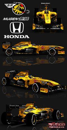 Honda F1 bitten and hisses