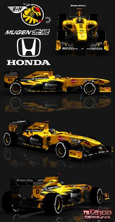 Honda F1 bitten and hisses