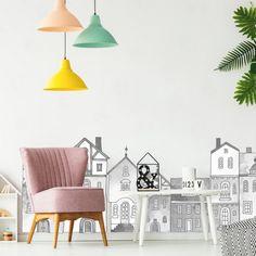 Oživiť detskú izbu je jednoduché. So samolepiacimi tapetami od INSPIO. | INSPIO Baby Room, Ikea, Home Decor, Decoration Home, Ikea Co, Room Decor, Nursery, Infant Room, Home Interior Design