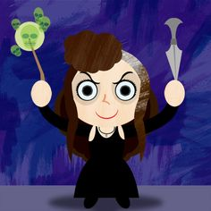 Vector Potter 10: Bellatrix by ~brodiehbrockie