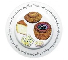 Ewes Cheese Plate by Richard Bramble Bramble, Ceramic Plates, Food Illustrations, Dinnerware, Ceramics, Breakfast, Tableware, Sweet, Cheese Plates
