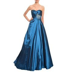 b19b254209aa4 Shop for Mac Duggal Women's Midnight Blue Sweetheart Ball Gown. Get free  delivery at Overstock - Your Online Women's Clothing Destination!