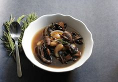 Cooker Mushroom and White Bean Soup with Red Wine Recipe 1 lb. white ...