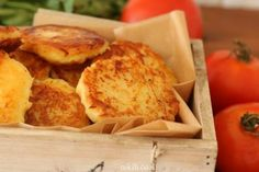 Classic Potato Latkes Recipe, The first bite is always the best.and the third. Potato Fritters, Potato Latkes, Baked Potato Recipes, Tasty, Yummy Food, First Bite, Food Photo, Great Recipes, The Best