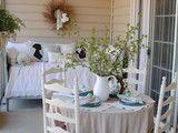 Back Porch - tradizionale - portico - richmond - Gentile da Lillie
