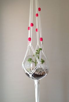 Macrame plant hanger by PipniHandmade on Etsy