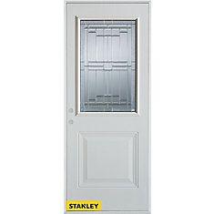 34 Inch X 80 Inch Architectural Zinc 1/2 Lite 1 . Exterior DoorsEntry ...