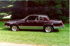 1986 Olds Cutlass 442.  Had two... too bad they were not the 442.  Even better would have been the Hurst Olds 442.  Love the body- all time favorite.