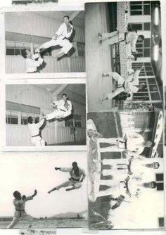 me at china beach 66,67 teaching with rok marines - 1966