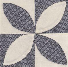 Jane A. Stickle Quilt block 7: JAS-A07 - Dad's Plaids