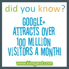 #didyouknow google attracts over 100 million visitors a month. #google www.eventchecklist.net