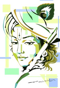 My Art Work... Lord Krishna