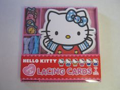 Hello Kitty Lacing Cards NEW #AbramsAppleseed