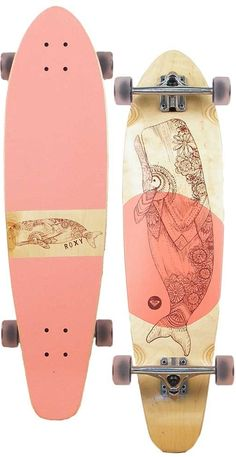 my roxy balina longboard//of course now that I found a board I absolutely love I can't find it anywhere