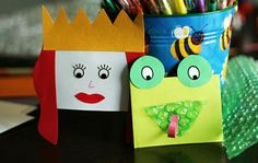 Take envelopes and try turning them into fun craft projects! I've found 5 great envelope crafts that you can do with your kids. There is something for every one and every season in these 5 easy crafts.: Envelope Hand Puppets