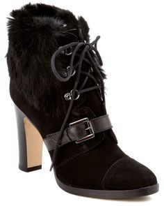 "Spotted this Aquatalia by Marvin K. ""Grandly"" Suede & Rabbit Ankle Boot on Rue La La. Shop (quickly!)."