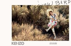 Abbey Lee in Kenzo's spring 2016 campaign. Photo: Sean Baker.