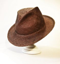 119075848f6 Mens Hats – Fedora Summer Hat in Panama Straw for men and wome – a unique