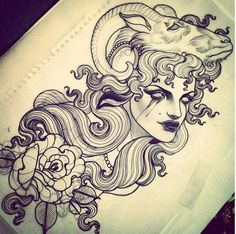 capricorn tattoo
