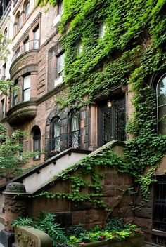 Gorgeous ivy covered brownstone on the Upper East Side -  93rd Street, NYC