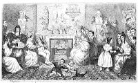 Researching Food History - Cooking and Dining: Twelfth Night characters on paper