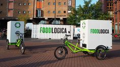"Foodlogica solar-powered cargo trikes, Sustainable Food Logistics in Amsterdam / ""VOEDSELLOGICA/FOODLOGIC"""