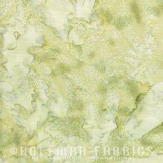 Hoffman 1895 Watercolors Solid Batik Fabric 1895-110 Daffodil Yellow BTY