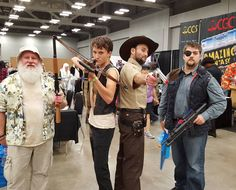 Not the best costumes but it's Walking Dead! by pursilla