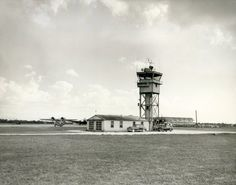 "1946 - Moisant Field opens to commercial airline operations  1961 - name changed to New Orleans International Airport  2001 - name changed to Louis Armstrong New Orleans International Airport. Original control tower (pic taken in 1949). You can see the EAL hangar in the background, ""Fly Eastern Air Lines"""