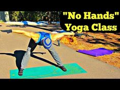 """No Hands"" Yoga Routine - 20 Min Hands Free Yoga Workout for Sore Wrists - YouTube"