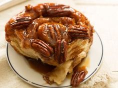 Sticky Pecan Caramel Rolls from CookingChannelTV.com