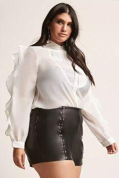 1c5326c734fa3 Forever 21. Curvy Women OutfitsCurvy Women FashionPlus Size ...