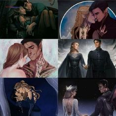 A Court Of Wings And Ruin, A Court Of Mist And Fury, Fanart, Roses Book, Feyre And Rhysand, Sarah J Maas Books, Throne Of Glass Series, Tribute, Crescent City