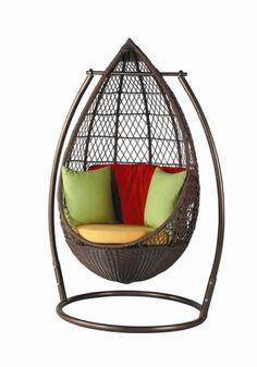 Patio Hanging Egg Chair   Modern   Hammocks And Swing Chairs .