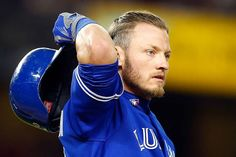 Josh Donaldson reacts after grounding out to end the seventh inning against the New York Yankees with the bases loaded at Yankee Stadium on August 7, 2015 in the Bronx borough of New York City. (Photo: Jim McIsaac/Getty Images)
