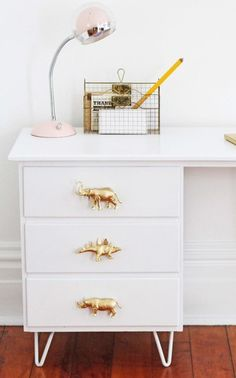 #DIY Faça você mesmo: Puxadores de gaveta!