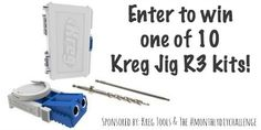 Build your own shelf with free plans and step by step instructions using the Kreg pocket hole jig. Rustic Shelves, Wood Shelves, Build Your Own Shelves, Kreg Pocket Hole Jig, Craft Room Tables, Kreg Tools, Kreg Jig, Woodworking Patterns, Step By Step Instructions