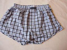 54030e258ffe Men's Perry Ellis Boxer Shorts UNDERWEAR Athletic Cut Button Fly Cotton  Medium #fashion #clothing