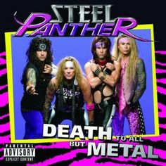 Funny Album Covers - Steel Panther